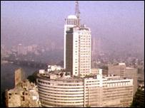 مبنى وزارة الإعلام المصرية
