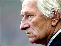 Czech Republic coach Karel Bruckner