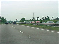 A11 holiday traffic