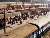Indian passenger train