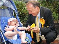 Simon Hughes on the London election trail