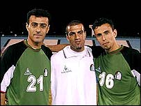 Palestinian players