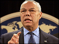 US Secretary of State, Colin Powell