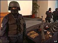Agente federal mexicano