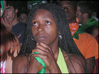 Watching the penalty shoot-out