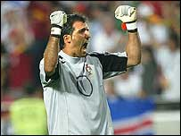 Portugal goalkeeper Ricardo