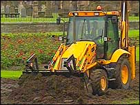 Digger in Elgin
