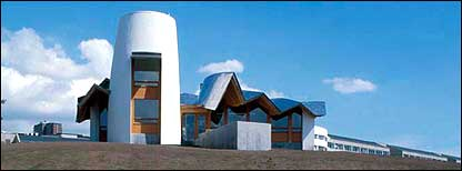 Frank Gehry's centre for cancer patients