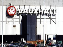 The former Vauxhall plant at Luton