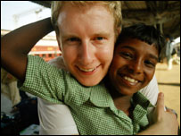 Patrick Kielty in India