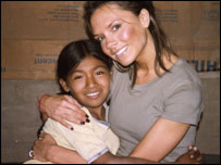 Victoria Beckham travels to Peru for A Mile In Their Shoes