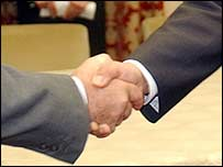 Shaking hands can be embarrassing with sweaty palms