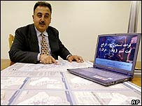 Iraqi Asaad Y Alnajjar, one of the people who applied to be in charge of .iq