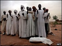 Burial in Darfur