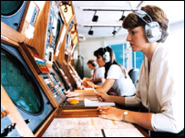 Image of air traffic controllers