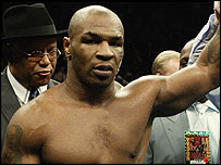 Former world champion Mike Tyson