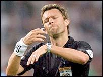 Swiss referee Urs Meier
