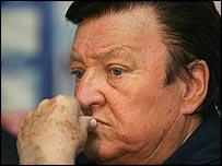 Former Croatia coach Otto Baric