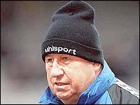 Auxerre coach Guy Roux