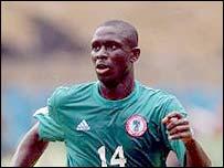 Nigerian midfielder Seyi Olofinjana