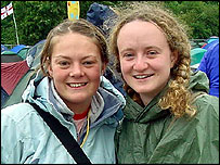 Carey Ringwood and Becky Davies