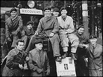 David Stainer and his mates at REME in 1950s