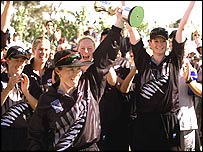 New Zealand win the 2000 IWCC World Cup
