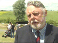 Terry Waite at Boxted
