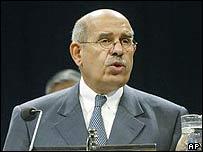 Mohamed El-Baradei, director del OIEA.