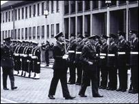 British servicemen, 1955