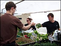 Farmers' market: Fresh, in season, healthy and quite expensive