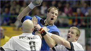 Get into handball!
