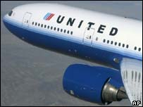 United Airlines aircraft in new livery
