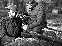 World War II correspondent Frank Gillard