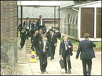 Pupils at school