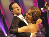 Natasha Kaplinsky and Brendan Cole