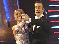 Lesley Garrett and Anton du Beke 