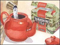 Чай (иллюстрация с сайта yorkshiretea.co.uk)