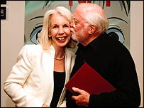 Amanda Nevill with Lord Attenborough