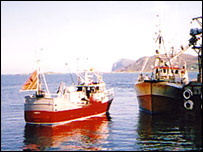 Norwegian fishing boats