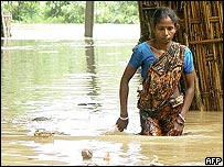 Monsoon flood in Tripura