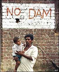 Locals in Narmada valley