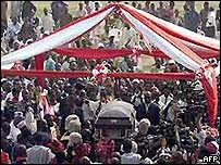 Casket of Chief Bola Ige
