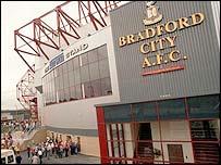 Bradford City's Valley Parade ground
