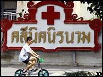 An anonymous AIDS clinic in Thailand