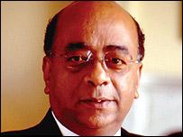 Dr Mohamed Ibrahim, Celtel's chairman