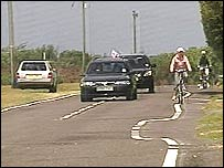 The road in East Boldre