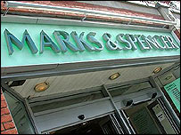 Marks & Spencer shop front