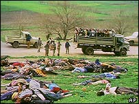 Victims of the Halabja attack, 1988