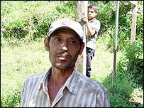 Evaristo Hernandez, worker at La Suana coffee farm